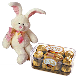 8 bunny with 100 gms handmade chocolates to bangalore karnataka 8 bunny with 100 gms handmade chocolates to bangalore karnataka send flowers and gifts to bangalore same day negle Gallery